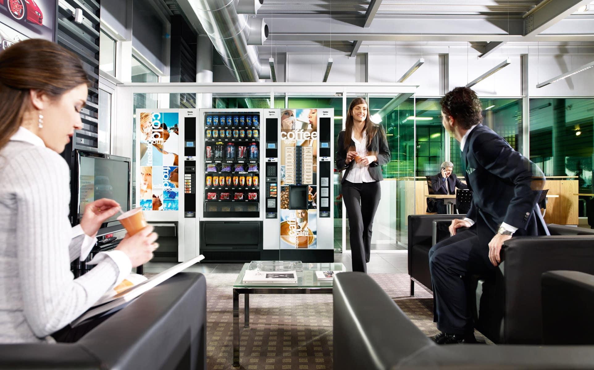 Lo studio informa:  concessione spazi per l'installazione e gestione macchine distributrici alimenti e bevande